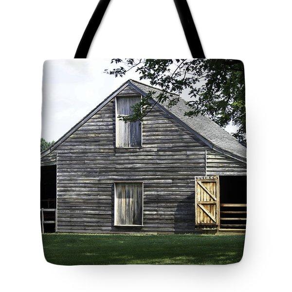 Meeks Stable Tote Bag by Teresa Mucha