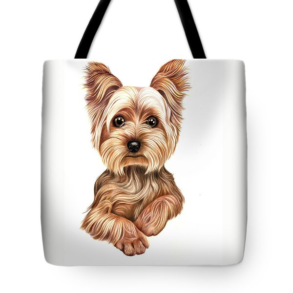 Meet Terry From Yorkshire Tote Bag by Margaret Sanderson