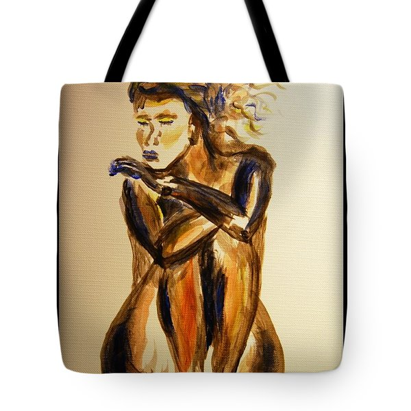 Melancholy Tote Bag by Angela Murray