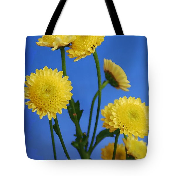 Mellow Yellow Tote Bag by Nancie DeMellia