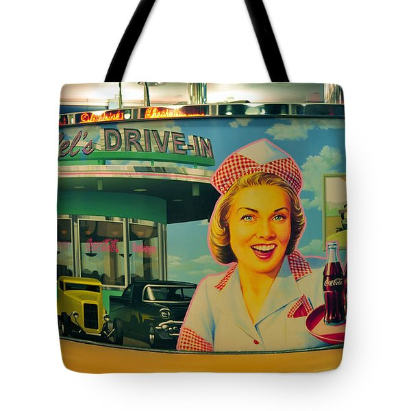 Mels Drive In Tote Bag by David Lee Thompson