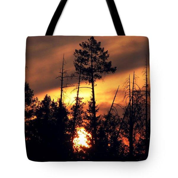 Melting Skies Tote Bag