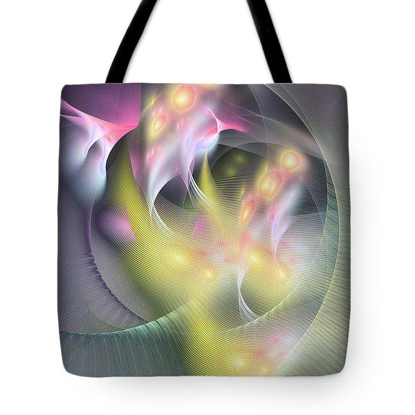 Memoria Futurorum -abstract Art Tote Bag
