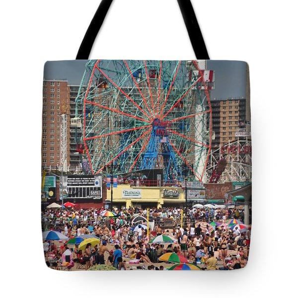 Memorial Day Weekend Tote Bag by Mark Gilman