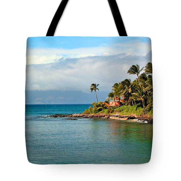 Memories Of Maui Tote Bag by Lynn Bauer