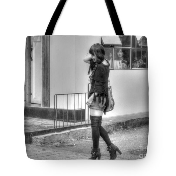 Memories Of Youth Tote Bag by Michael Garyet