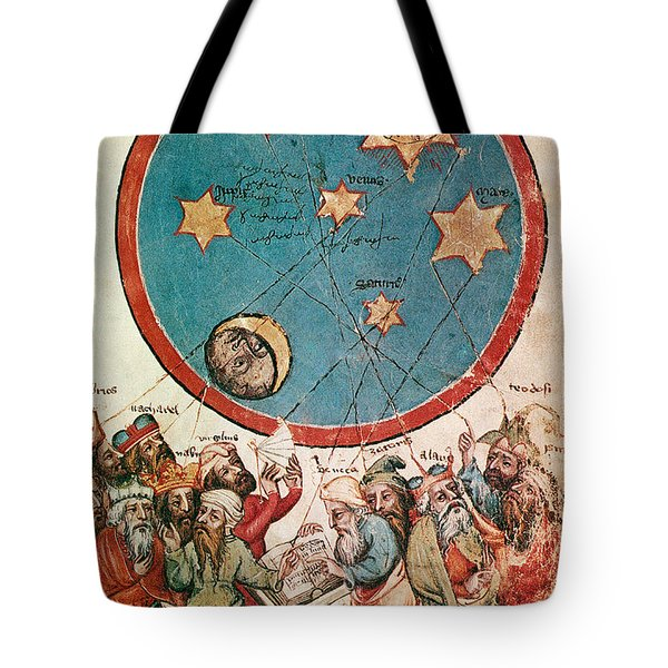 Men & Their Guiding Stars Tote Bag by Science Source