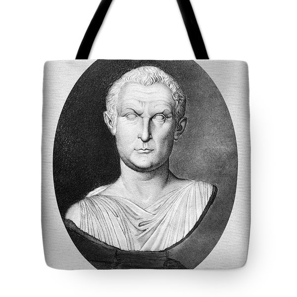 Menander (343-291 B.c.) Tote Bag by Granger