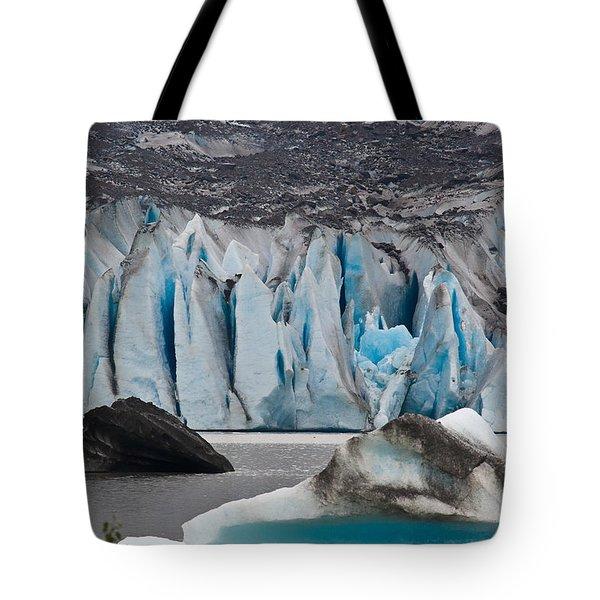 Mendenhall Glacier Juneau Alaska 1698 Tote Bag