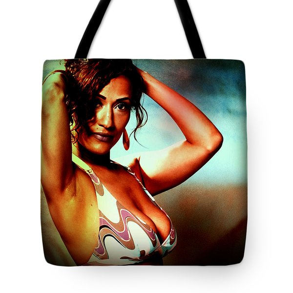Tote Bag featuring the photograph Mennail by Alice Gipson