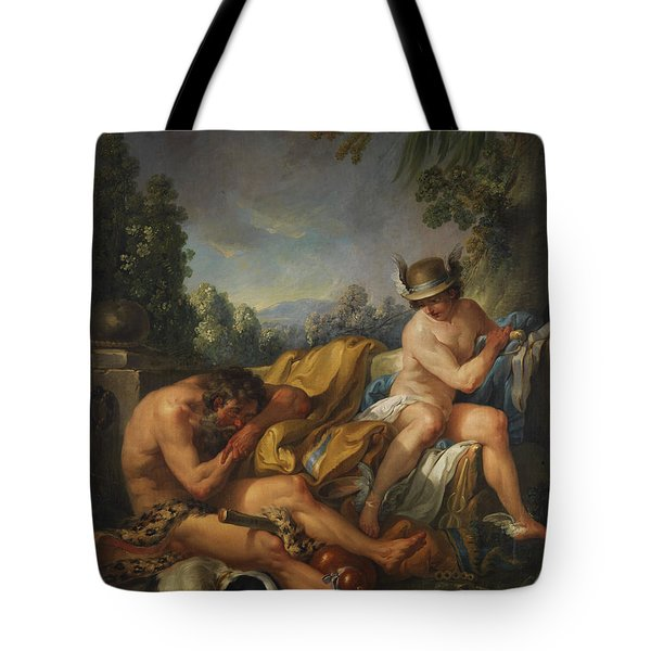 Mercury And Argus Tote Bag