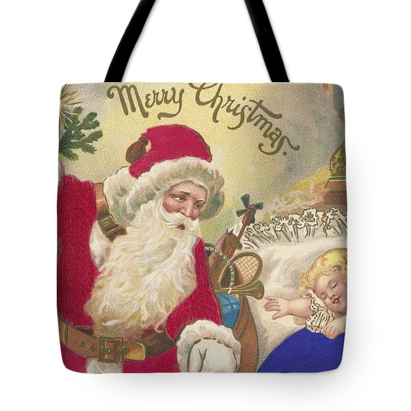 Merry Christmas Tote Bag by American School