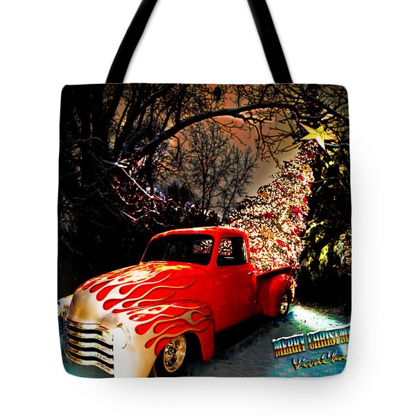 Merry Christmas From Vivachas Tote Bag