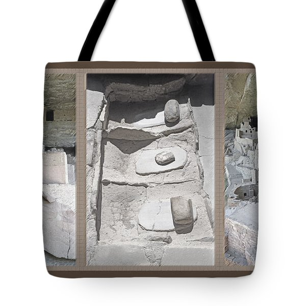 Mesa Verde Triptych Tote Bag