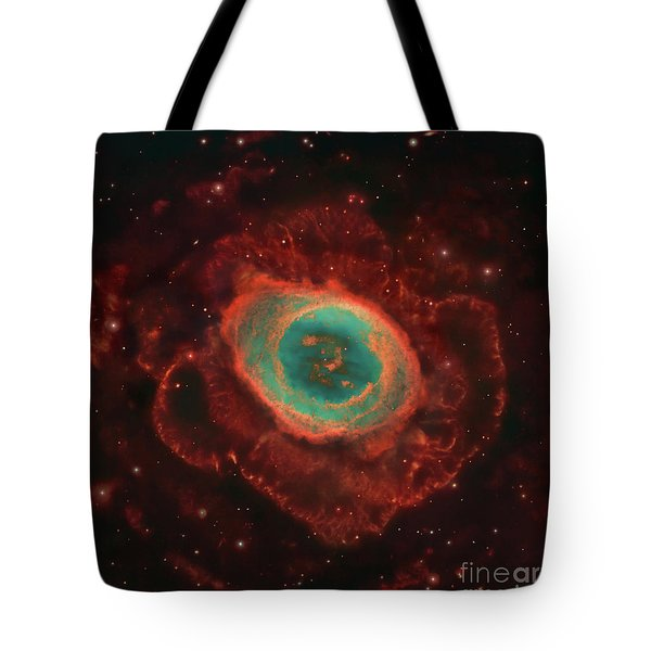 Messier 57, The Ring Nebula Tote Bag by Robert Gendler