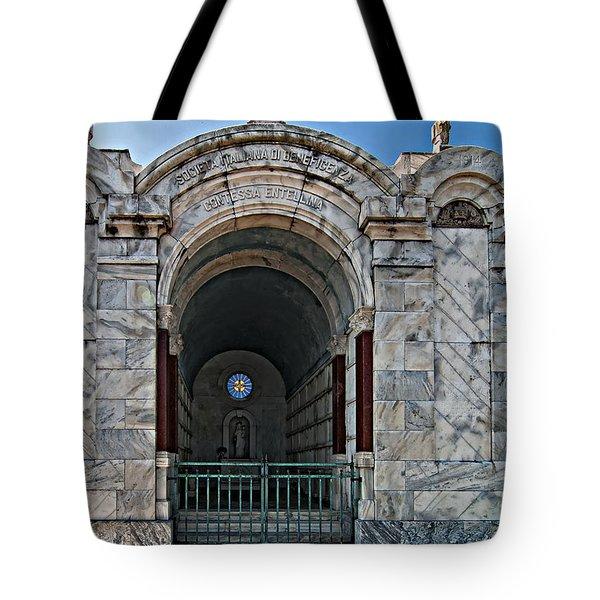 Metairie Cemetery 3 Tote Bag by Steve Harrington