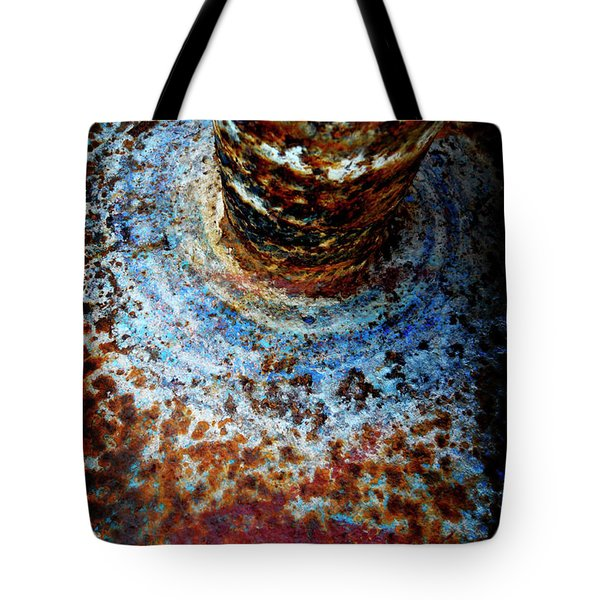 Tote Bag featuring the photograph Metallic Fluid by Pedro Cardona