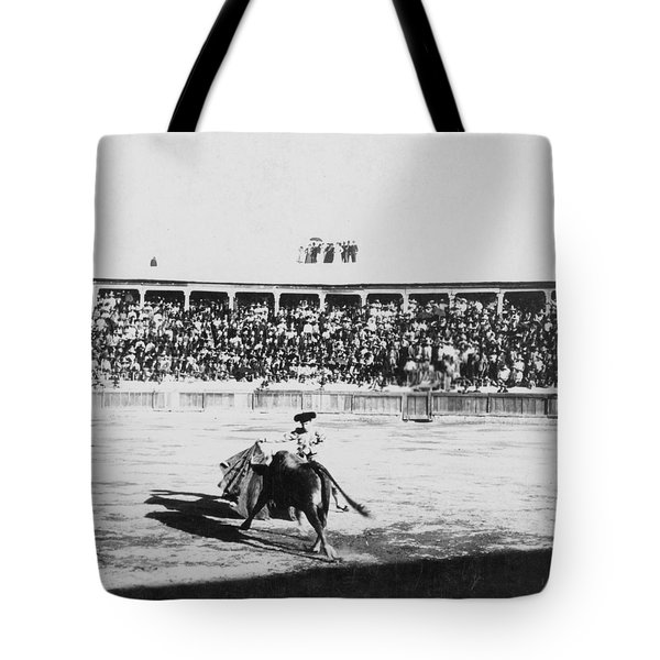 Mexican Bull Ring - C 1900 Tote Bag