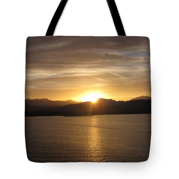 Tote Bag featuring the photograph Mexican Sunset by Marilyn Wilson