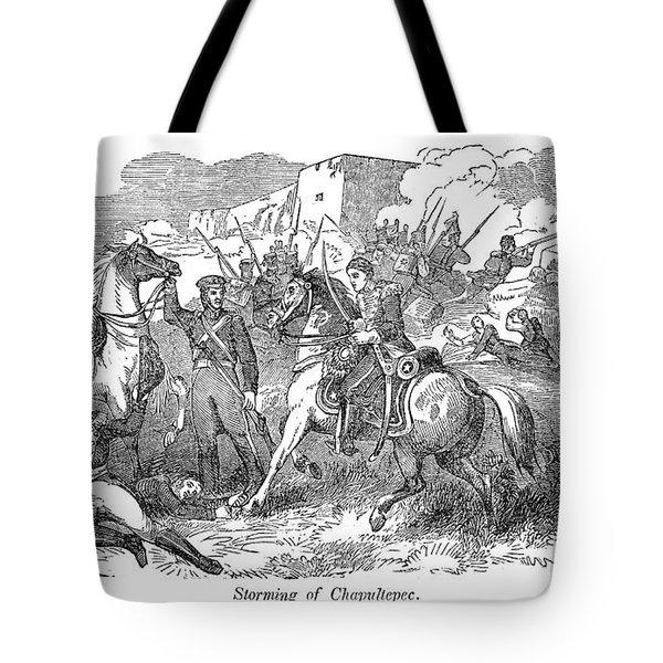 Mexican War: Chapultepec Tote Bag by Granger