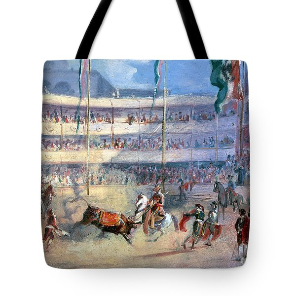 Mexico: Bullfight, 1833 Tote Bag by Granger