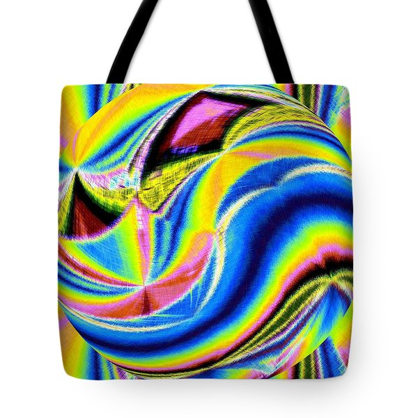 Micro Linear 28 Tote Bag by Will Borden