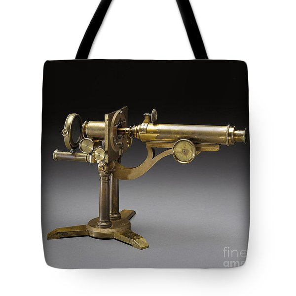 Microscope, 1864 Tote Bag by Science Source