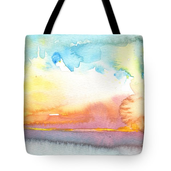 Midday 26 Tote Bag by Miki De Goodaboom