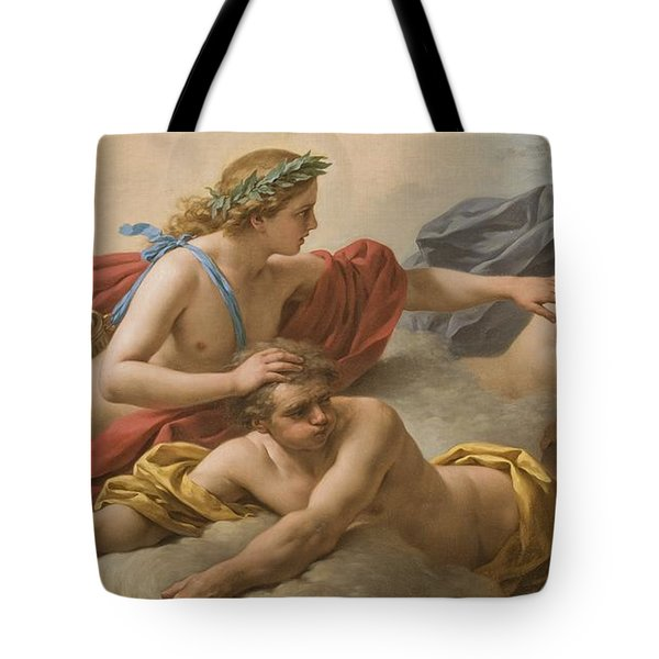 Midday Tote Bag by Louis Jean Francois I Lagrenee