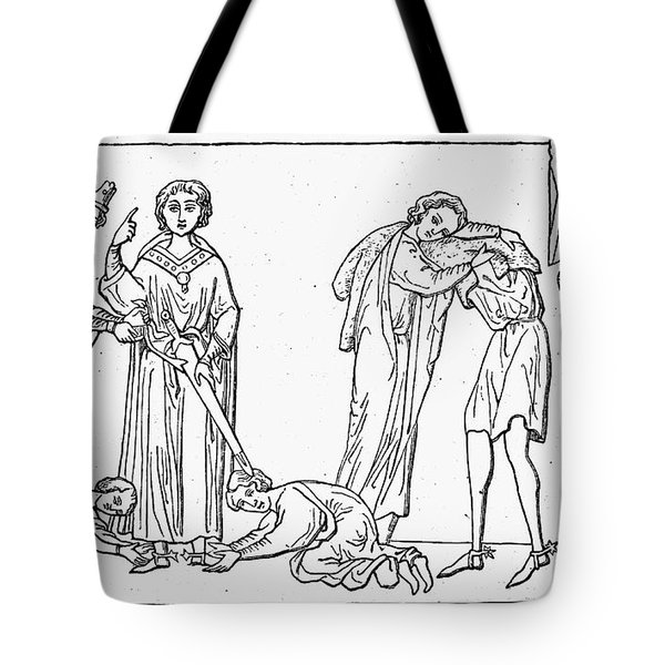 Middle Ages: Knighting Tote Bag by Granger