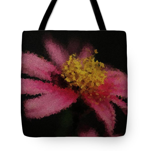 Midnight Bloom Tote Bag by Lauren Radke