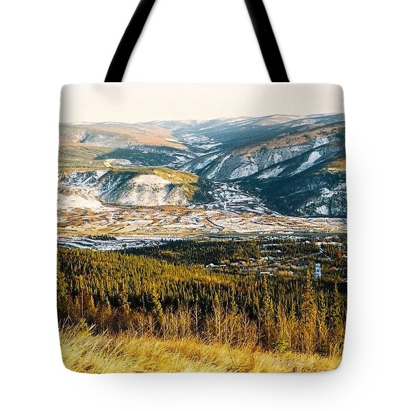 Midnight Dome - Dawson City Tote Bag