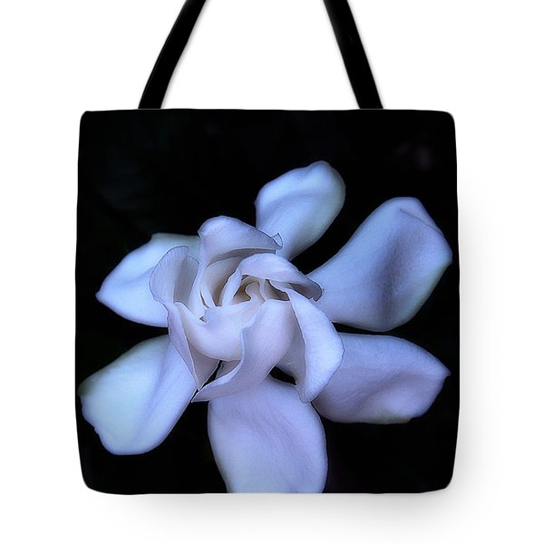 Midnight Gardenia Tote Bag by Judi Bagwell
