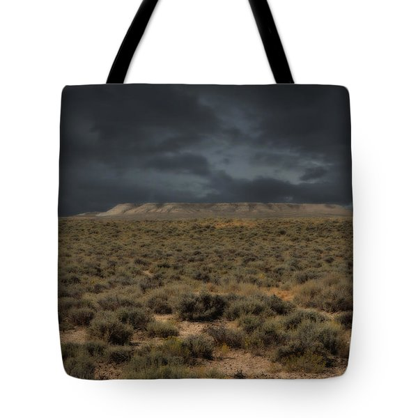 Midnight On The Pairie In Wyoming Tote Bag