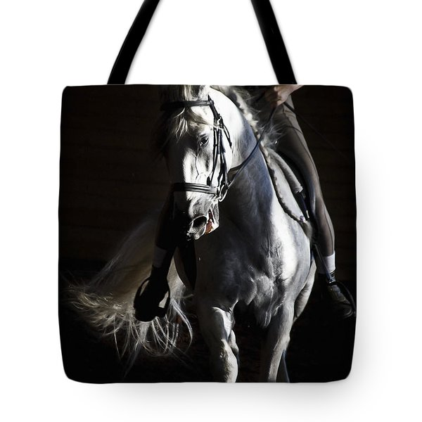 Tote Bag featuring the photograph Midnight Ride by Wes and Dotty Weber