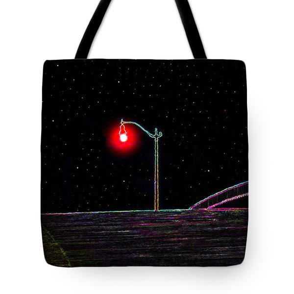 Midnight Run Tote Bag by David Lee Thompson