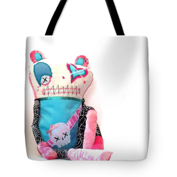 Mika The Original Party Monster Zombie Tote Bag by Oddball Art Co by Lizzy Love