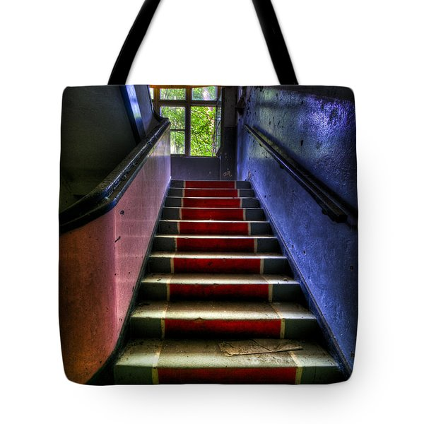 Military Steps Tote Bag by Nathan Wright