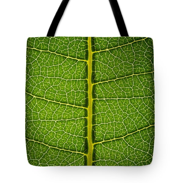 Milkweed Leaf Tote Bag by Steve Gadomski