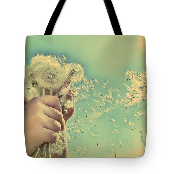 Millions Of Wishes... Tote Bag
