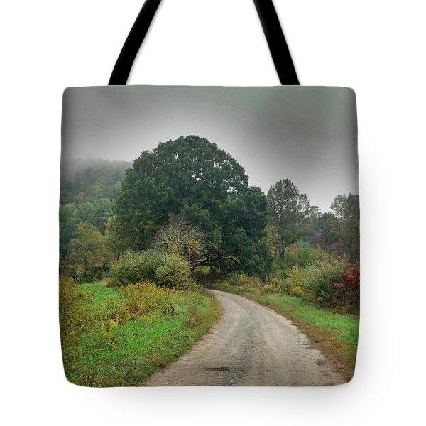 Mills Ridge Tote Bag by Janice Spivey