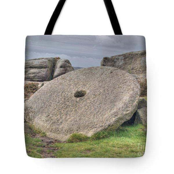 Millstone On Edge Tote Bag by Steev Stamford