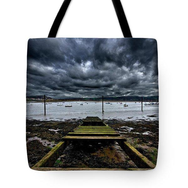 Mind The Gap Tote Bag by Meirion Matthias