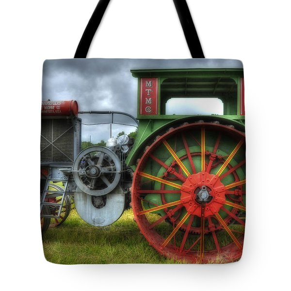 Tote Bag featuring the photograph Minneapolis Threshing Machine Co. by Trey Foerster