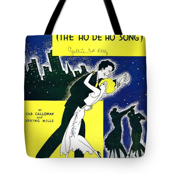 Minnie The Moocher Tote Bag by Mel Thompson