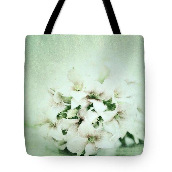 Mint Green Tote Bag by Priska Wettstein