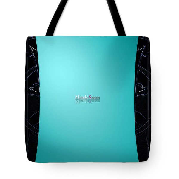 Mint Side Tote Bag