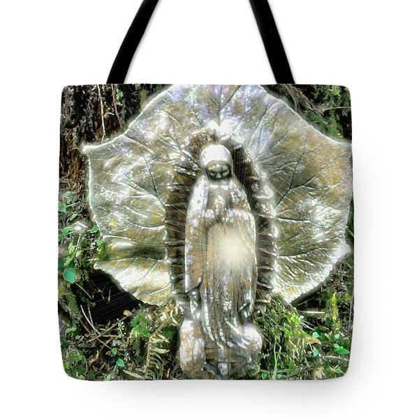 Miracle In My Garden Tote Bag