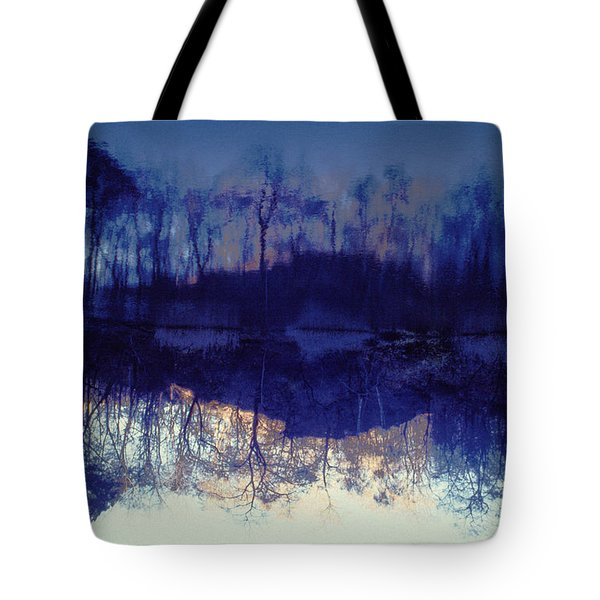 Mirror Pond In The Berkshires Tote Bag