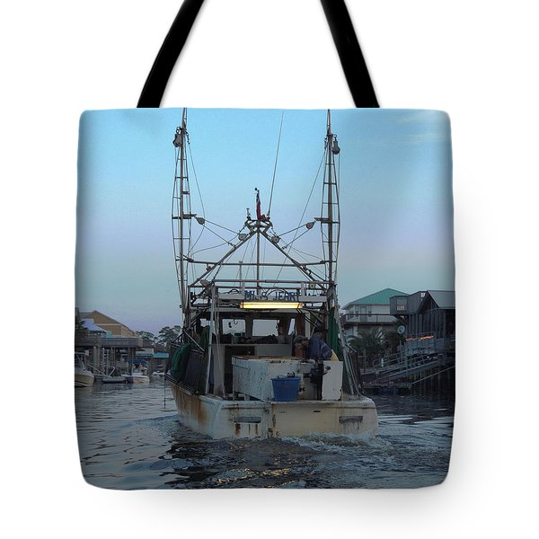 Miss Jerry's Tote Bag by Marilyn Holkham
